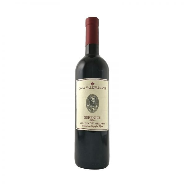 IGT Croatina Berenice Rosso Casa Valdemagna vino San Colombano al Lambro
